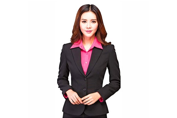KARF Womens Regular Fit Single Breasted Blazer 1 1614549824875