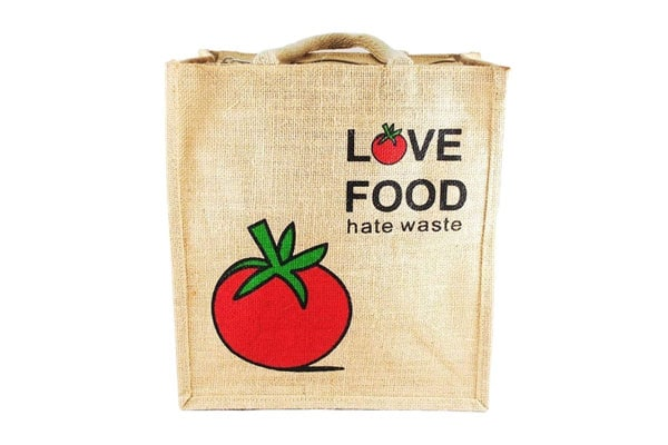 Kabbana Unisex Jute Multipurpose Waterproof Lunch Bag 1611081976910