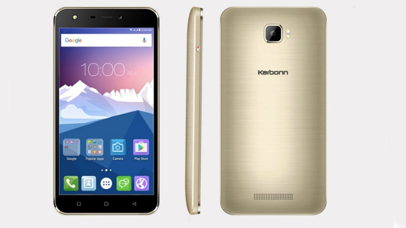 Karbonn K9 Viraat With 5.5-Inch Display Launched at Rs. 5,990