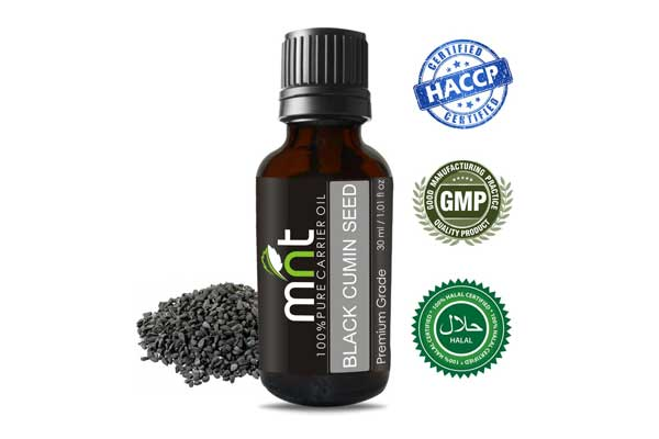 MNT Black Cumin Seed Carrier Oil 100% Pure Natural & Undiluted