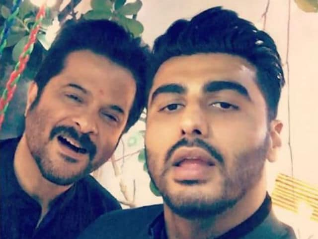 Anil, Arjun Kapoor Star in Jhakaas Kapoor & Sons Photo