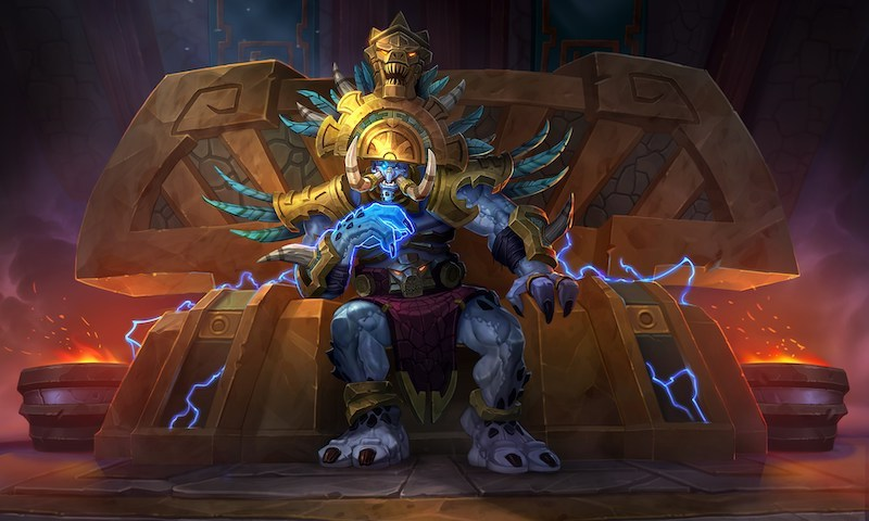 Hearthstone Rastakhan's Rumble Announced at BlizzCon 2018
