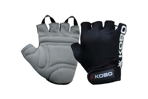 Kobo Leather Fitness Gloves 1559108991224