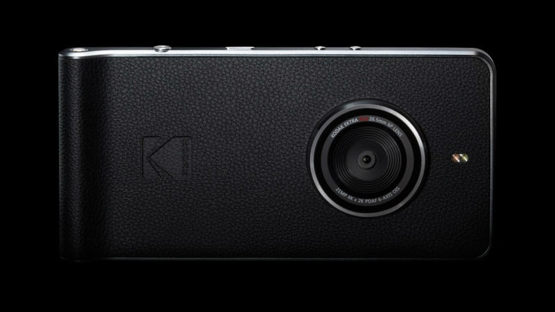 Kodak Ektra Smartphone With 21-Megapixel Rear Camera, DSLR-Like Features Launched