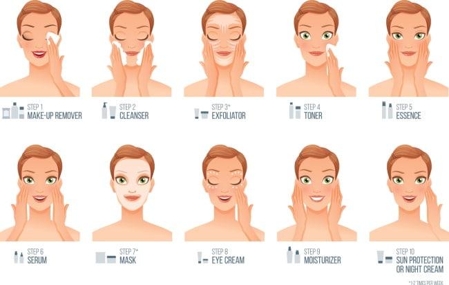 Korean Skincare Routine 10 Steps K Beauty Skincare Routine 1614971998851