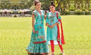 Women Kurta With Sharara Set To Shop Online Ahead of Eid 2018