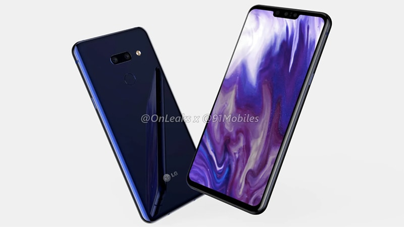 LG G8 Renders Leak Ahead of MWC 2019, Show 3.5mm Headphone Jack