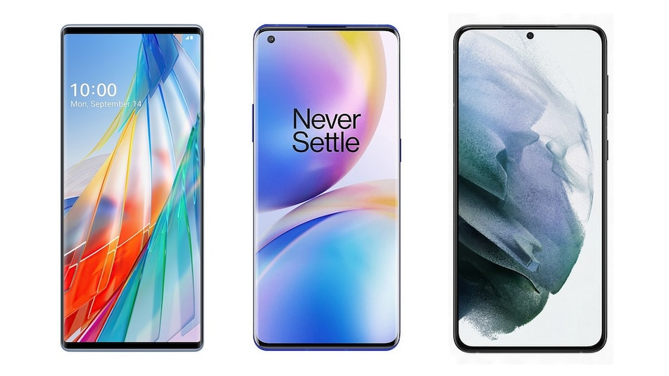 LG Wing vs OnePlus 8 Pro vs Samsung Galaxy S21 Plus: What's the Difference?