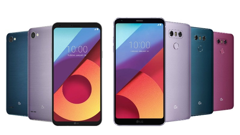 LG G6 Now Available in 8 Colour Variants LG Q6 in 7 Colour Variants