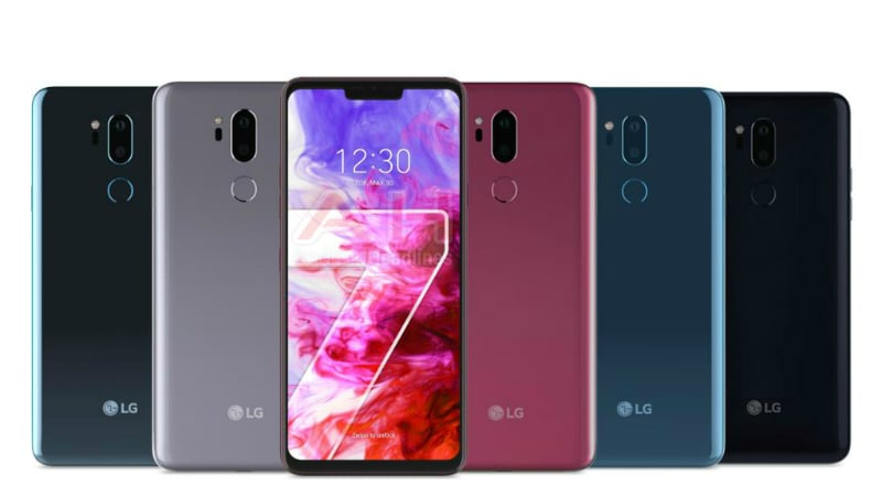 LG G7 ThinQ Name, Launch Date Confirmed, Leaked Press Renders Show iPhone X-Like Notch and Colours