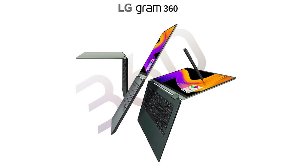 LG Gram 360 Laptop With Intel Tiger Lake CPU, 360-Degree Hinge Design, Military Standard Durability Launched