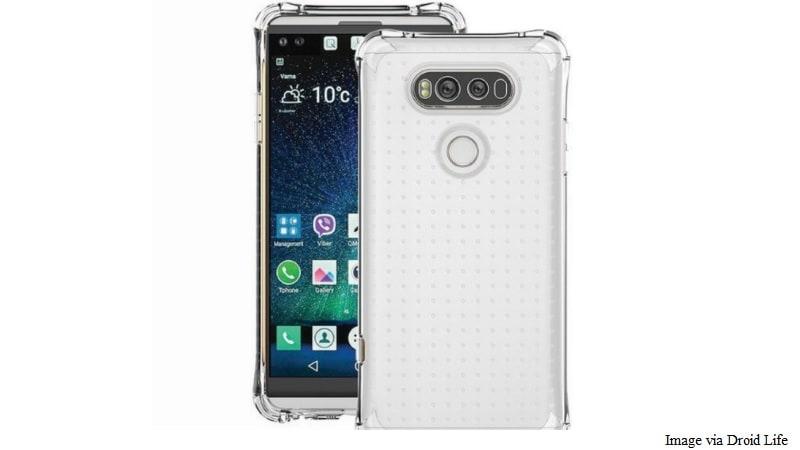 LG V20 Leaked Images Tip Second Display, Dual Camera, No Modular Design