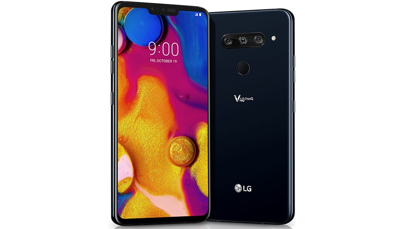 LG V40 ThinQ India Launch Said to Be Soon as Amazon