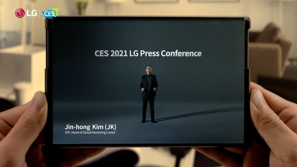 LG kicks off CES 2021 by teasing its upcoming LG Rollable smartphone