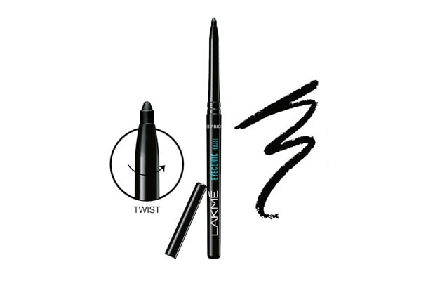 Lakme Makeup Products Under 300 - Lakme Eyeconic Kajal, Deep Black, 0.35g