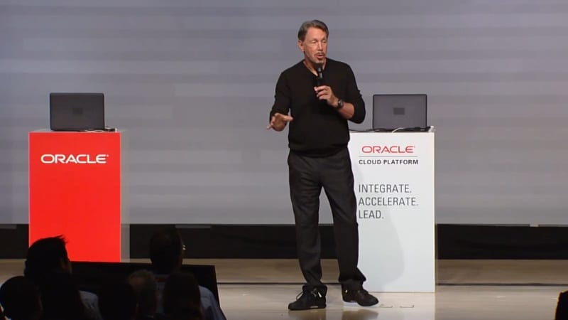 Oracle's Ellison Aims at Amazon With Fresh Cloud Services