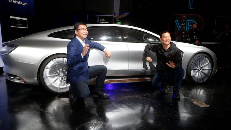 LeEco Unveils LeSee Self-Driving Car in US But Cannot Make It Drive