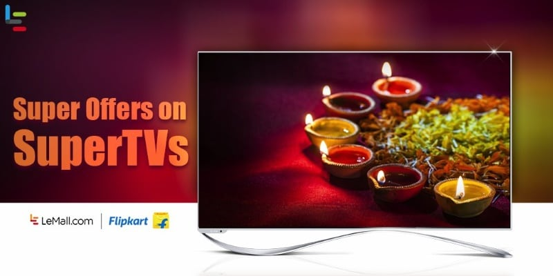 LeEco Diwali Sale Includes Cashbacks on 4K Televisions and Smartphones