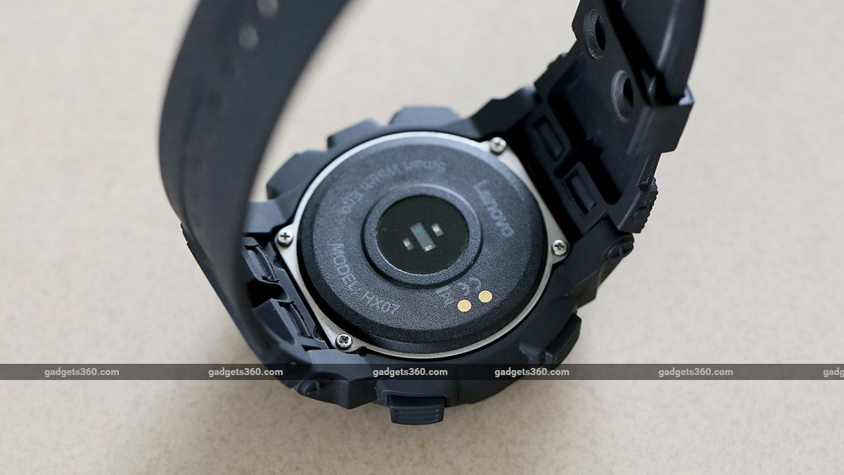 Lenovo Ego Back Lenovo Ego Smartwatch Review