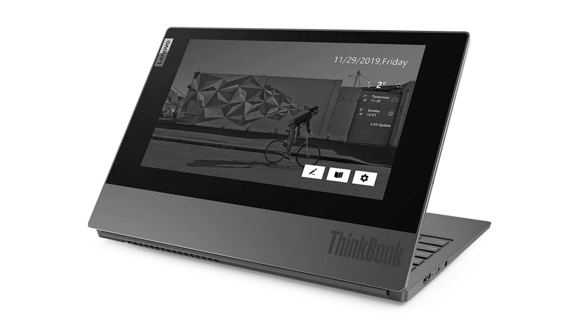 Lenovo ThinkBook Plus With E-Ink Cover Display, 10th-Gen Intel Core Processors Launched in India - Gadgets 360