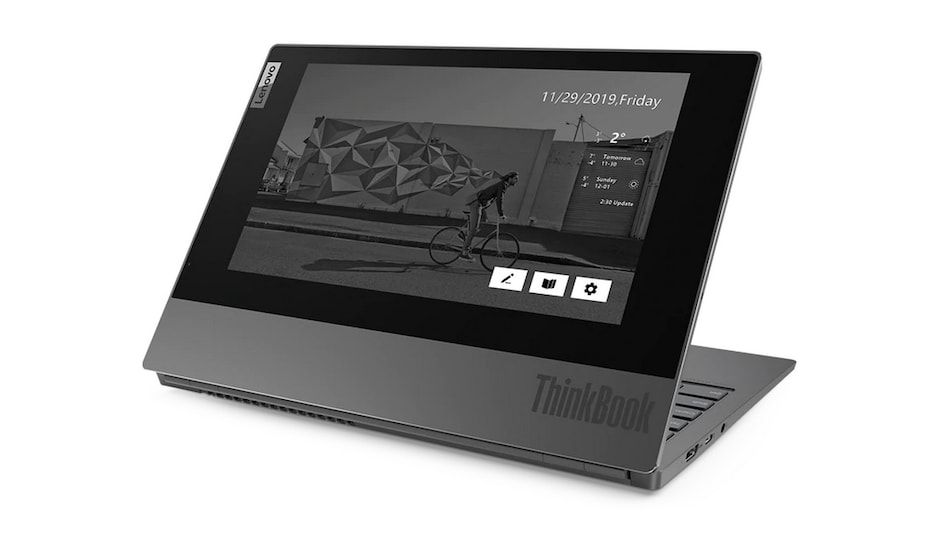 Lenovo ThinkBook Plus With E-Ink Cover Display, 10th-Gen Intel Core Processors Launched in India