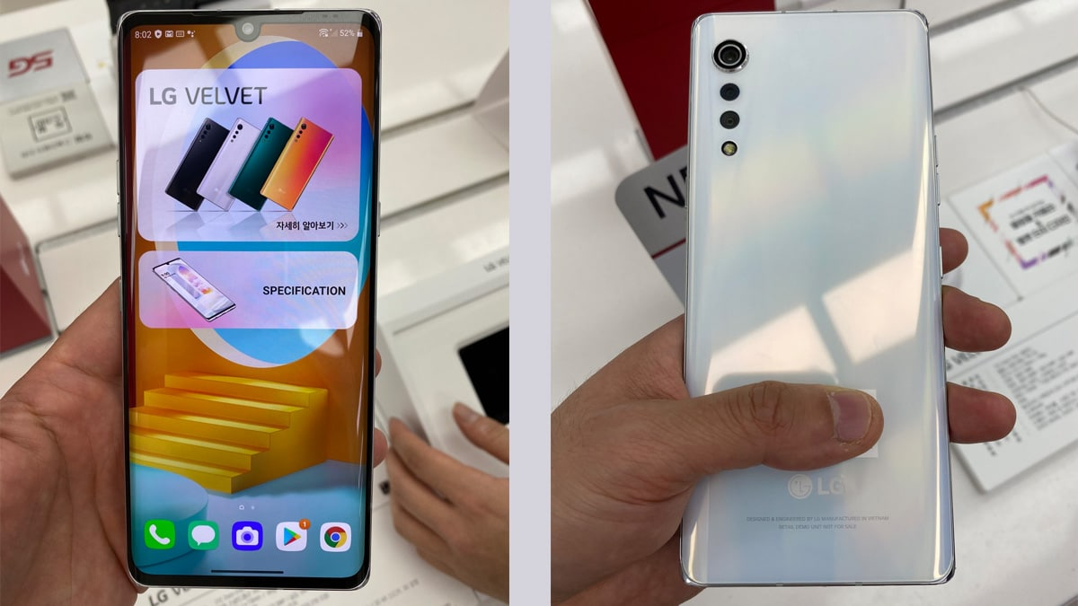 LG Velvet Goes Official with Snapdragon 765G, 48MP Raindrop Camera