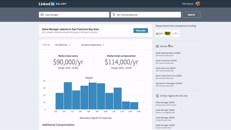 LinkedIn Salary Tool Lets You Compare Pay With Others in Your Field