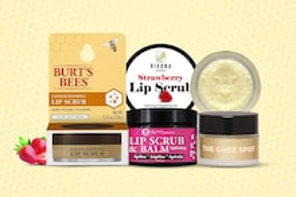 Best Lip Scrubs For Brighter, Plumper Lips