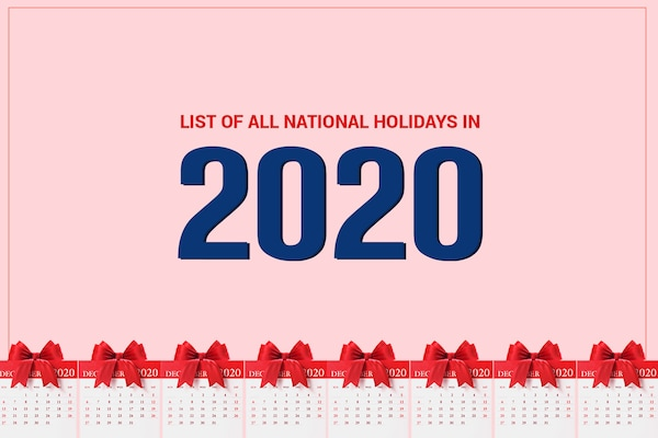 List Of All National Holidays in India | 2020 Edition