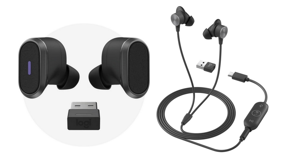 Logitech Launches New 'Zone' Earphones Meant for Video Conferencing