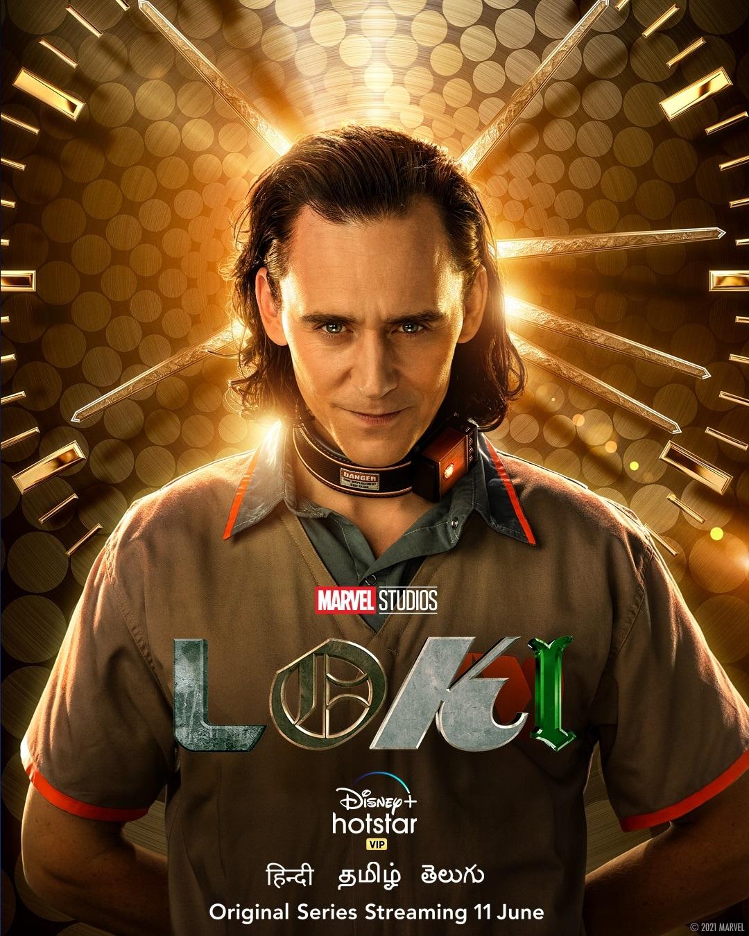 Loki poster hotstar Loki poster hotstar