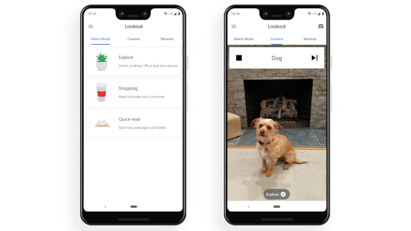 Google Lookout App for Visually Challenged Now Available for Pixel Phones in US