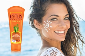 Lotus Sunscreen Review: Lotus Herbals 3-in-1 Matte Look Daily Sunblock
