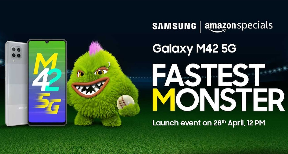 Samsung Galaxy M42 5G to Launch in India on April 28, Amazon Availability Confirmed