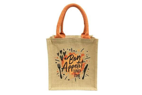 MAGNUS ECO BAGS Jute Bag for Lunch Box 1611082040797