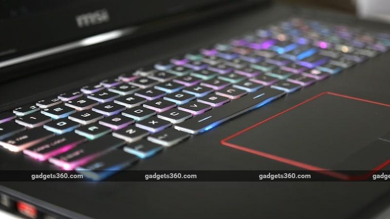 MSI GE73VR 7RF keys ndtv MSI