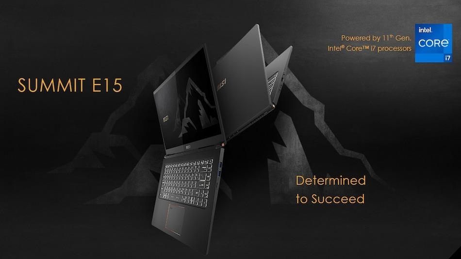 MSI Summit, Prestige, Modern Series Laptop Models Refreshed With Intel 11th-Gen Tiger Lake CPUs