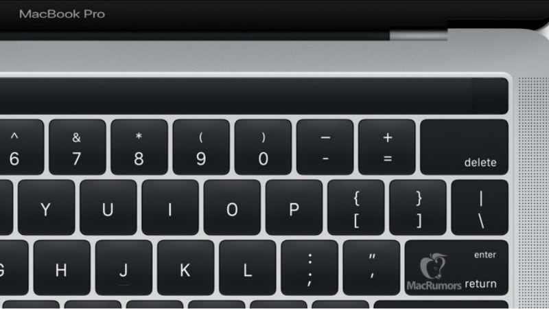 Apple Confirms Arrival of MacBook Pro With OLED Panel, Touch ID in Hidden Images