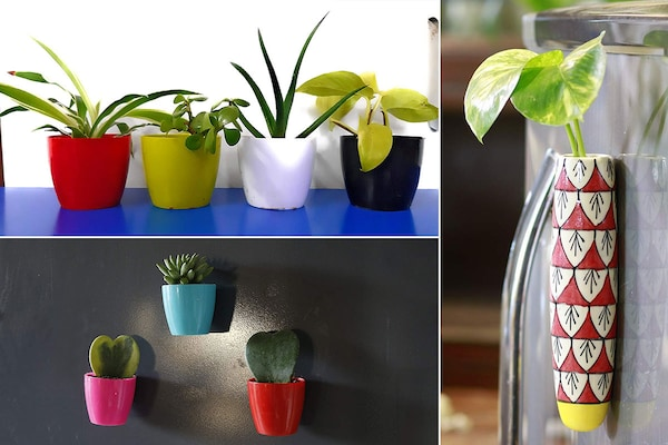 Magnetic Planters: Time To Enjoy A Whiff Of Greenery