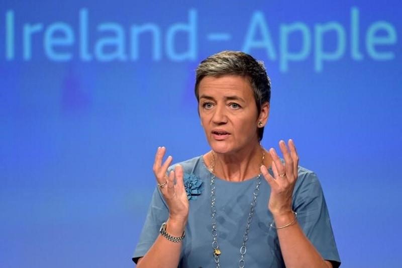 EU Tax Move on Apple Not Anti-US Bias: Vestager