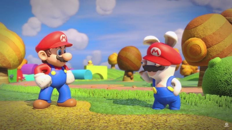 Mario Rabbids Kingdom Battle Mario mario_rabbids_kingdom_battle