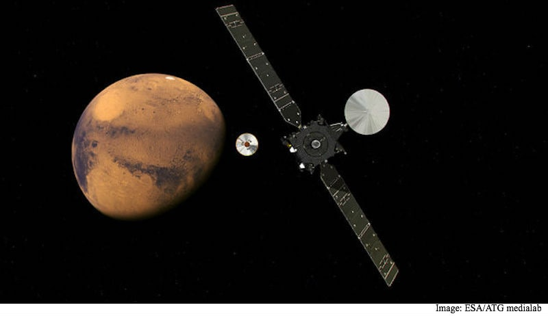 Europe Heads to Mars in Search of Life