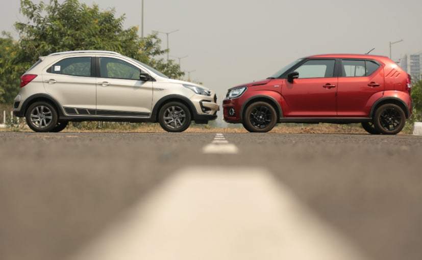 Maruti Suzuki Ignis Vs Ford Freestyle M10