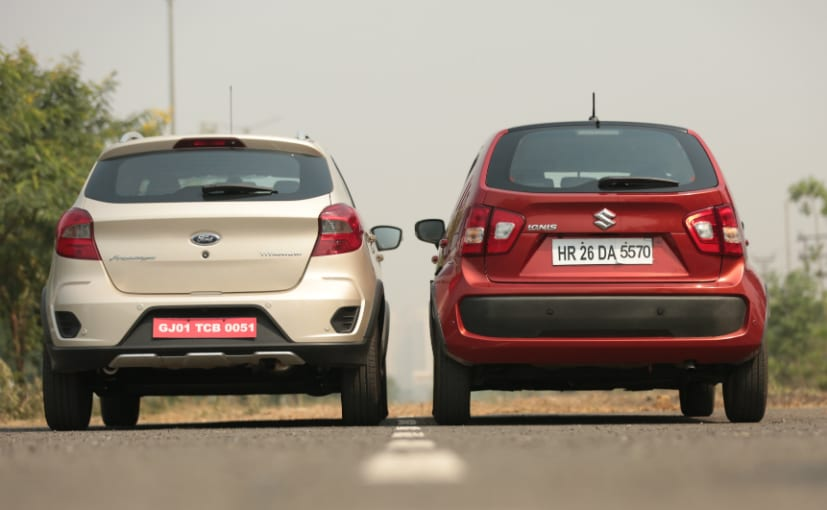 Maruti Suzuki Ignis Vs Ford Freestyle M11