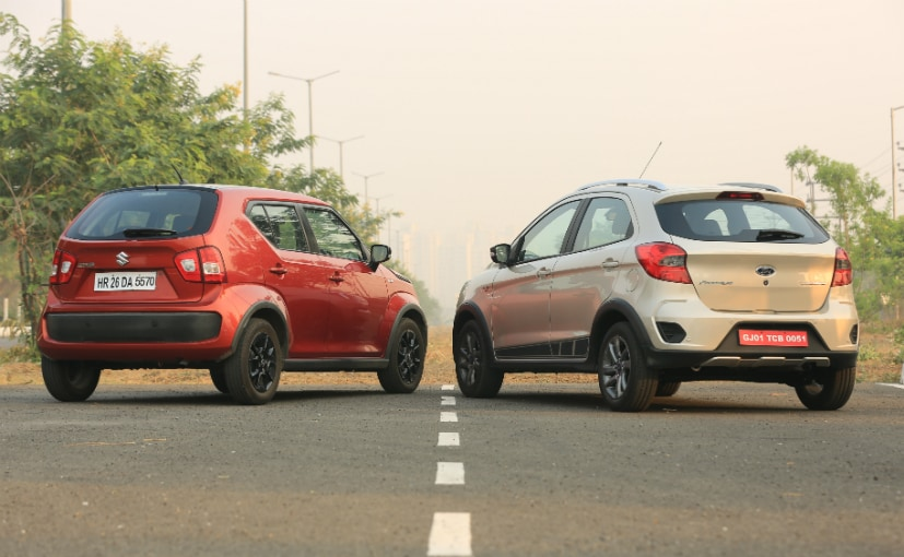 Maruti Suzuki Ignis Vs Ford Freestyle M6
