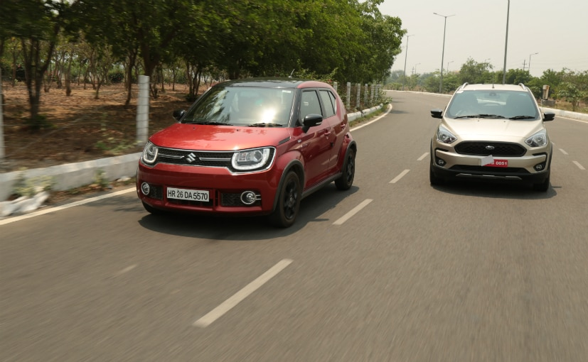 Maruti Suzuki Ignis Vs Ford Freestyle M7