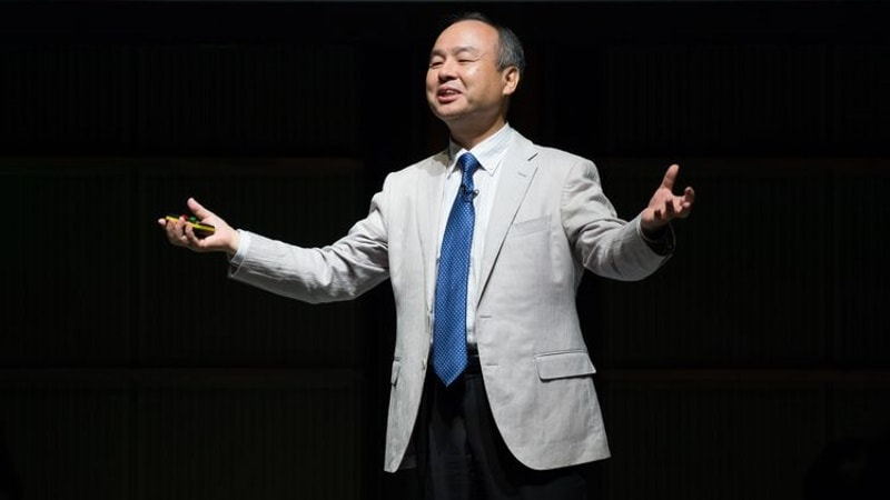 Forget Retirement. SoftBank CEO Aims to Be Biggest Tech Investor