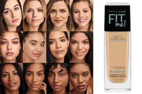 Maybelline Fit Me Foundation Review: Find Your Shade