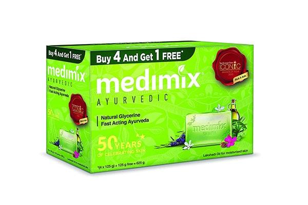 Medimix Ayurvedic Natural Glycerine Bathing Bar 1613067293825
