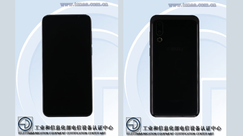 Meizu 16s Design Spotted in TENAA Certification Listing Along With Some Specifications